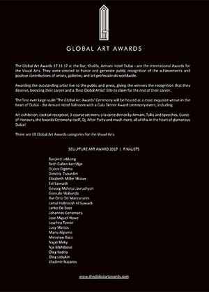 global art awards